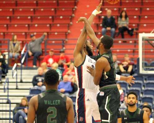 Darius Lewis Opening Tip Off November 11, 2016 (Photo by: David Hague)
